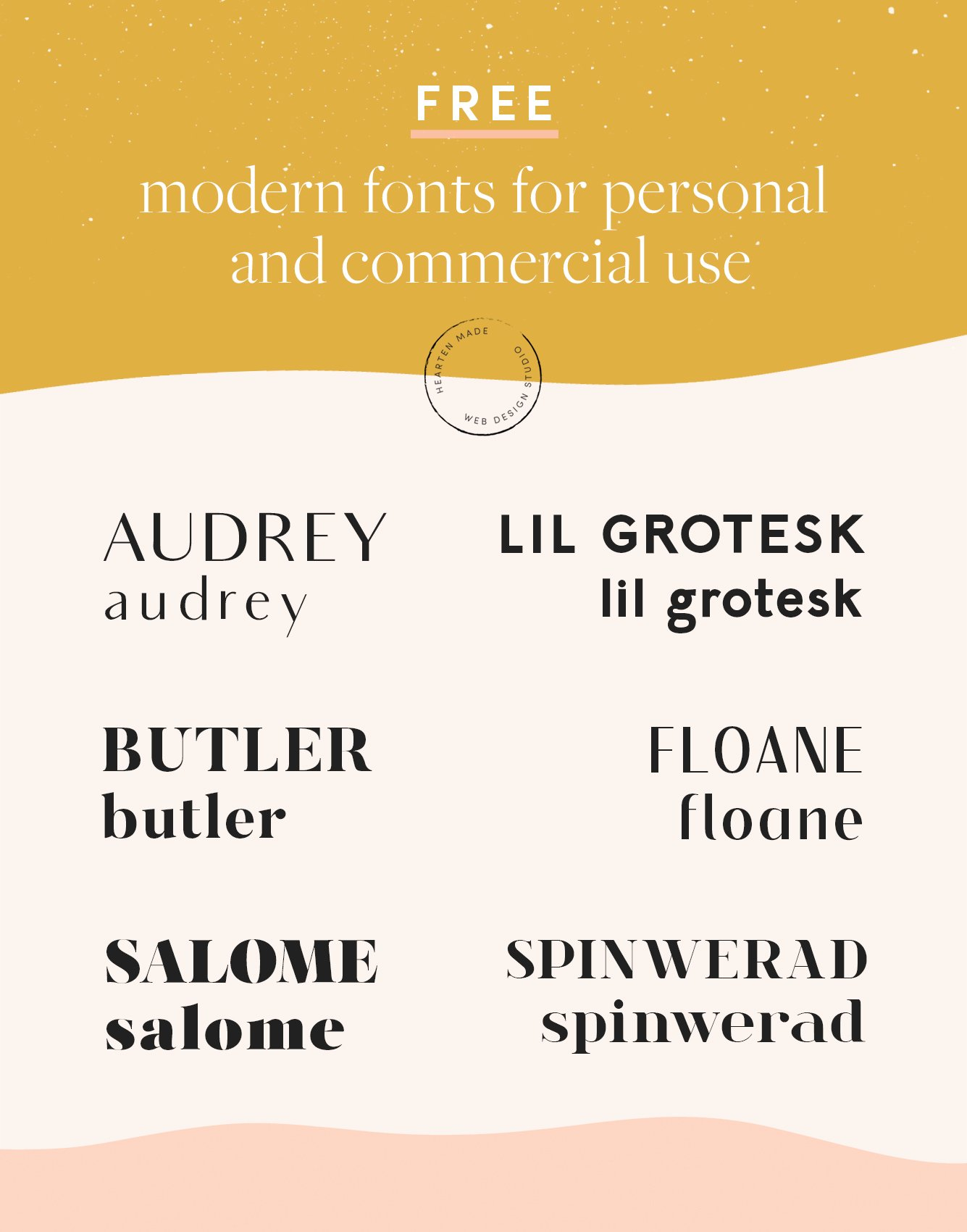 free fonts featured image